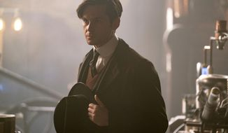 """This image released by HBO shows Tom Riley in a scene from """"The Nevers."""" (HBO via AP)"""
