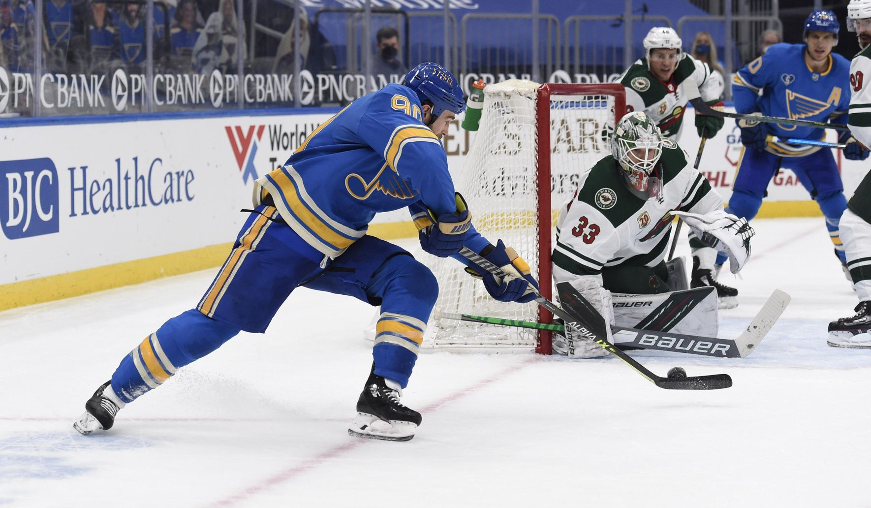 O'Reilly scores with 2 seconds left in OT, Blues beat Wild