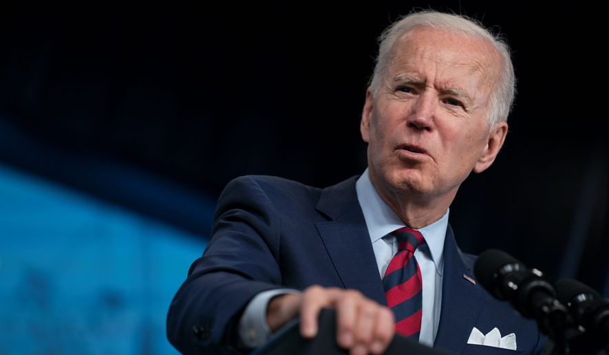 President Biden is facing criticism for issuing 38 executive orders and for not fulfilling promises he made during his presidential campaign. (Associated Press)
