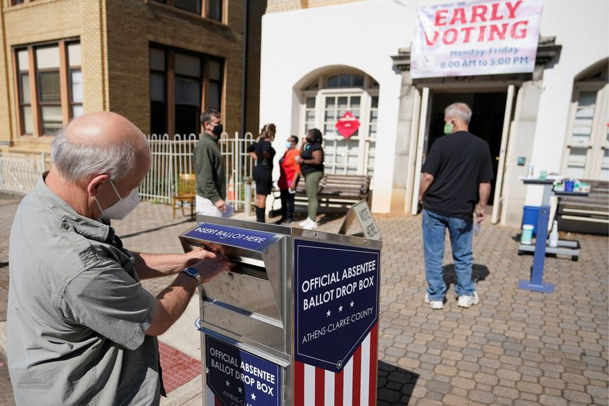 Democrats and Republicans have been arguing about voter ID laws for more than a decade. The laws are still being hotly debated. (Associated Press)