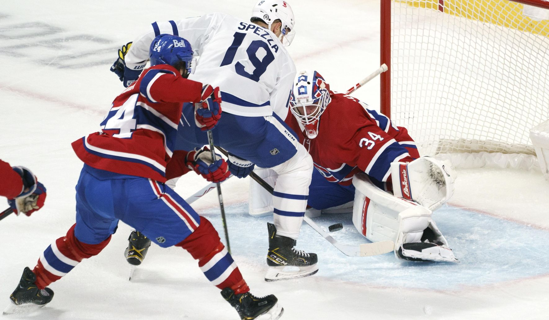 Tatar scores twice, Canadiens beat Maple Leafs 4-2