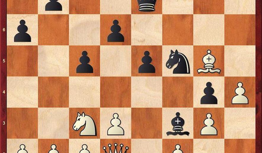 Bartel-Artemiev after 21. Bg5.