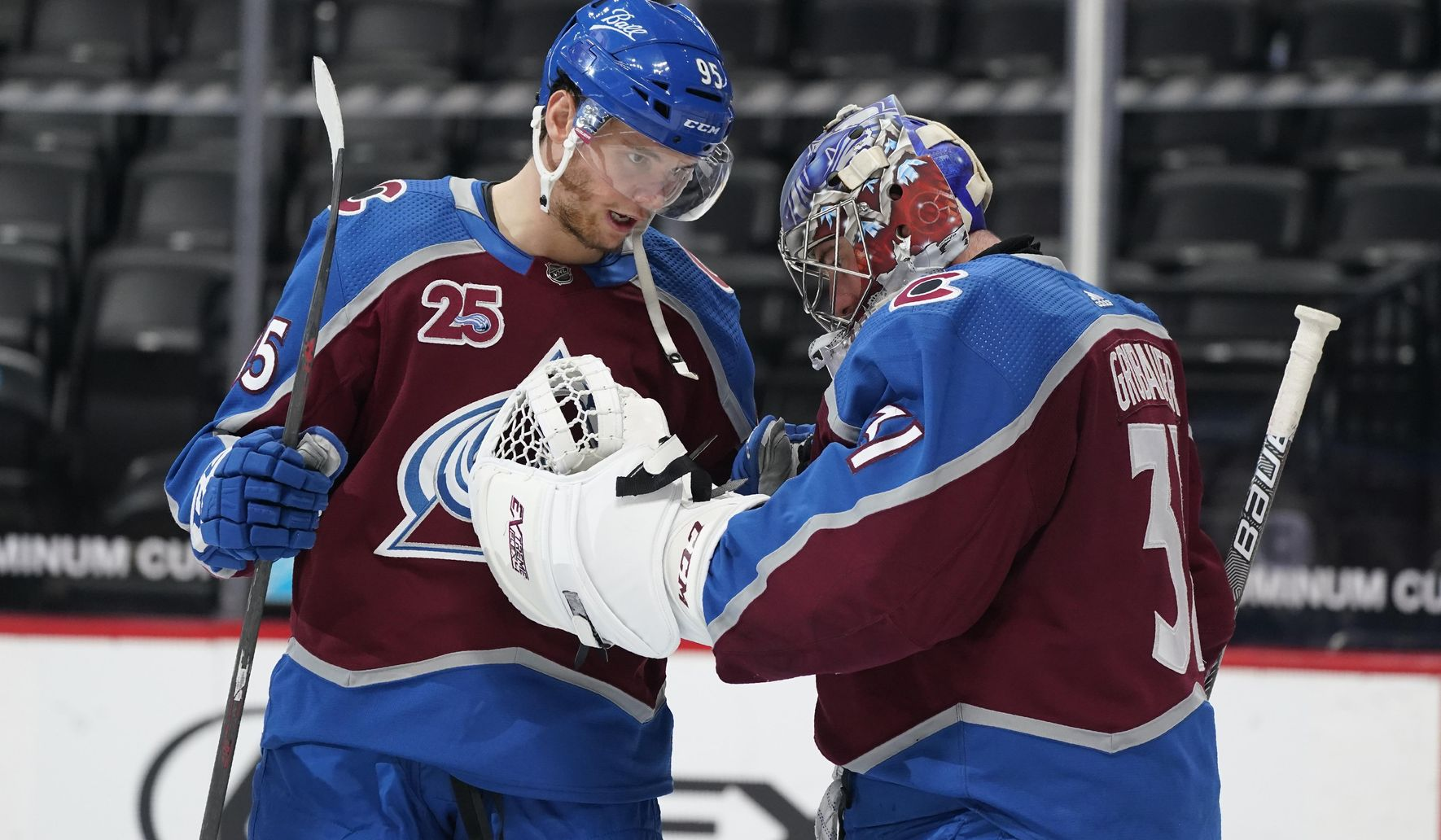 Sakic embraces win-now mode with contract decisions looming