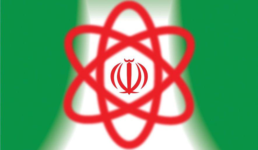 Iran's Natanz blackout and cyber-war illustration by Linas Garsys / The Washington Times