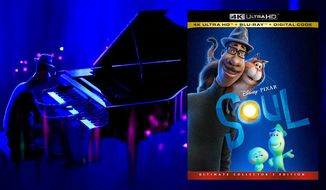 """Joe Gardner in the zone in """"Soul,"""" now available on 4K Ultra HD from Walt Disney Studios Home Entertainment."""