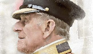 Prince Philip Illustration by Greg Groesch/The Washington Times