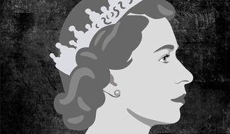Her Majesty Queen Elizabeth II Illustration by Greg Groesch/The Washington Times