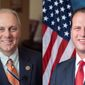 Whip Steve Scalise and U.S. Rep. August Pfluger