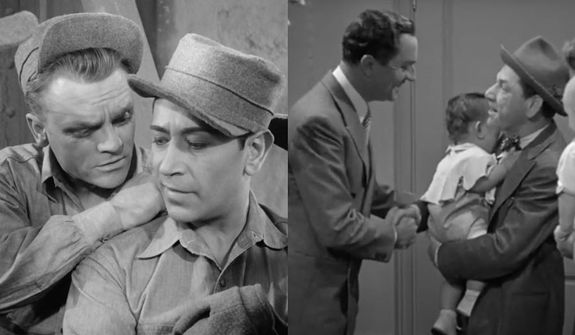 """James Cagney and George Raft star in """"Each Dawn I Die"""" and Nick Charles (William Powell) meets Wacky (legendary Stooge Shemp Howard) in """"Another Thin Man,"""" now available on Blu-ray as part of the Warner Archive Collection."""