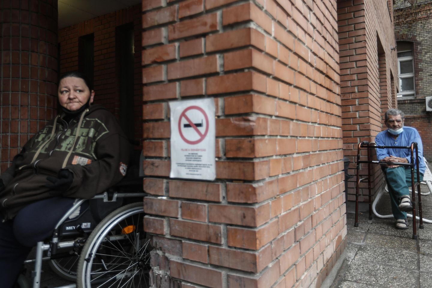 Hungary's government spars with mayor over homeless hospital