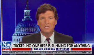 Fox News host Tucker Carlson (Screengrab via Fox News)