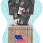 Bad Ballots and Election Integrity Illustration by Greg Groesch/The Washington Times