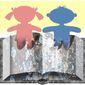 Illustration on harmful children's books by Alexander Hunter/The Washington times