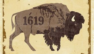1619 Project Bull Illustration by Greg Groesch/The Washington Times