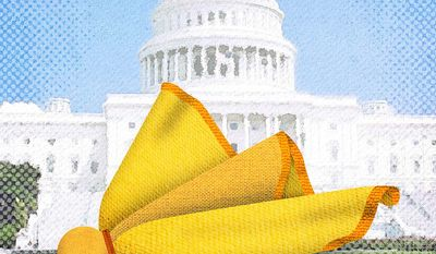 Congress Capitol Penalty Illustration by Greg Groesch/The Washington Times