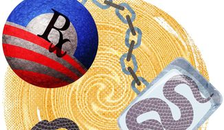 Democrats' Snake Oil Healthcare Illustration by Greg Groesch/The Washington Times