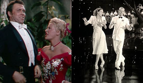 """Howard Keel and Betty Hutton star in """"Annie Get Your Gun"""" and Eleanor Powell and Fred Astaire star in """"Broadway Melody of 1940,"""" now available on Blu-ray as part of the Warner Archive Collection."""