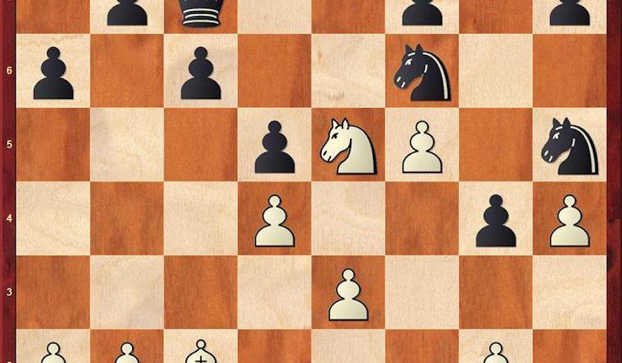 Nakamura-Carlsen after 24. Qe1.