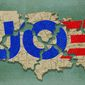 Biden's American Unity Illustration by Greg Groesch/The Washington Times