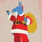 Dem Donkey Biden Santa Claus Illustration by Linas Garsys/The Washington Times