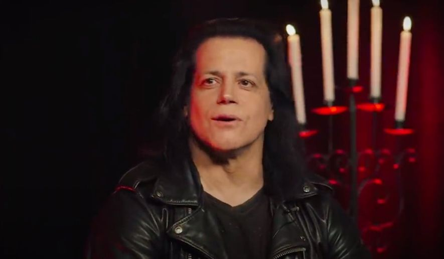 Glenn Danzig in an interview with Rolling Stone on June 25, 2015. (Screengrab via YouTube/@Rolling Stone)