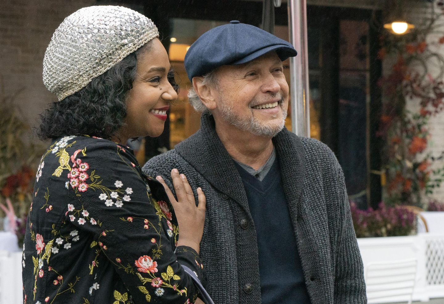Review: Billy Crystal and Tiffany Haddish in 'Here Today'