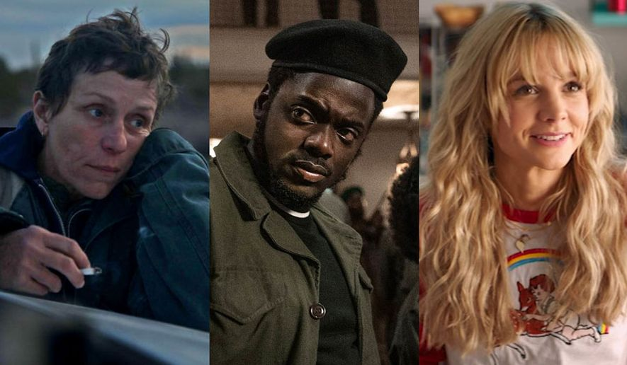 """Frances McDormand in """"Nomadland,"""" Daniel Kaluuya in """"Judas and the Black Messiah"""" and Carey Mulligan in """"Promising Young Woman,"""" now available in the Blu-ray format."""