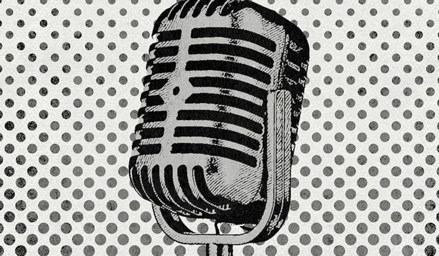 Radio illustration by The Washington Times