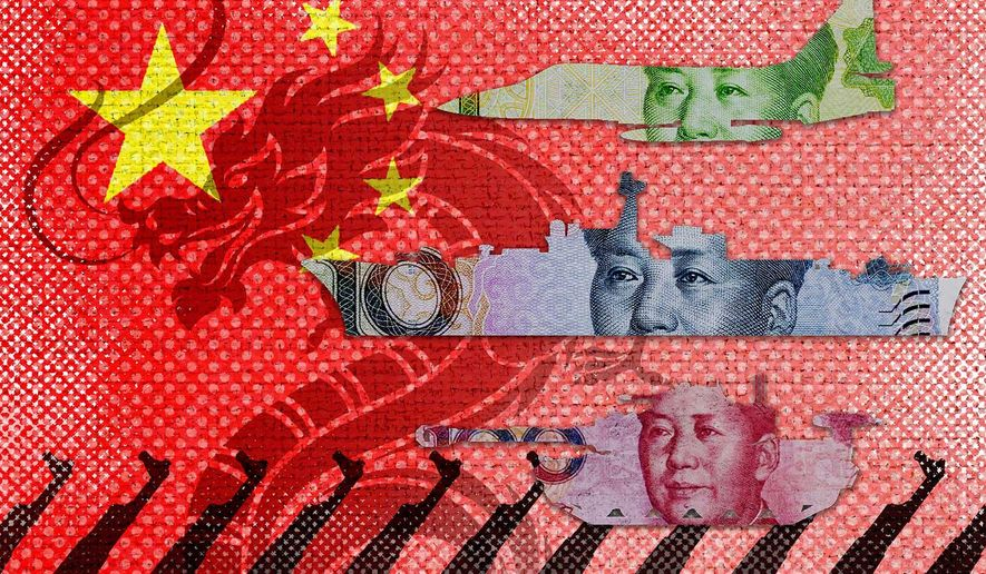 China Military Buildup Illustration by Greg Groesch/The Washington Times