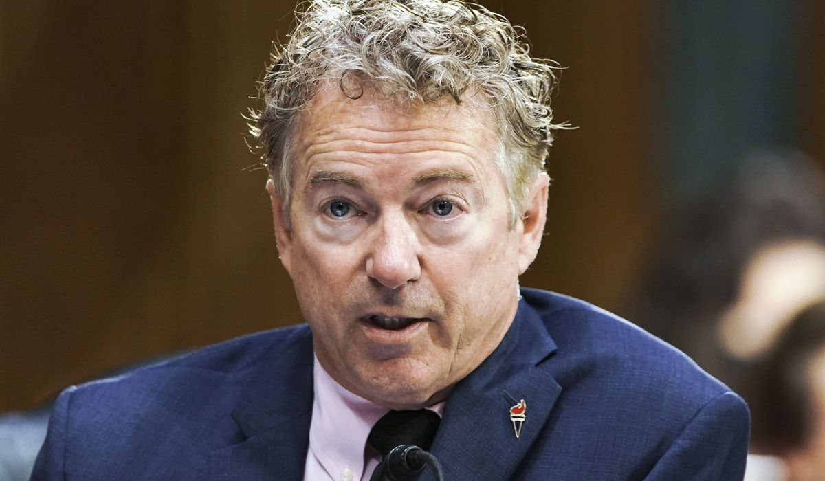 Rand Paul: Fauci hiding past work on 'super-viruses that jump from animals to humans'