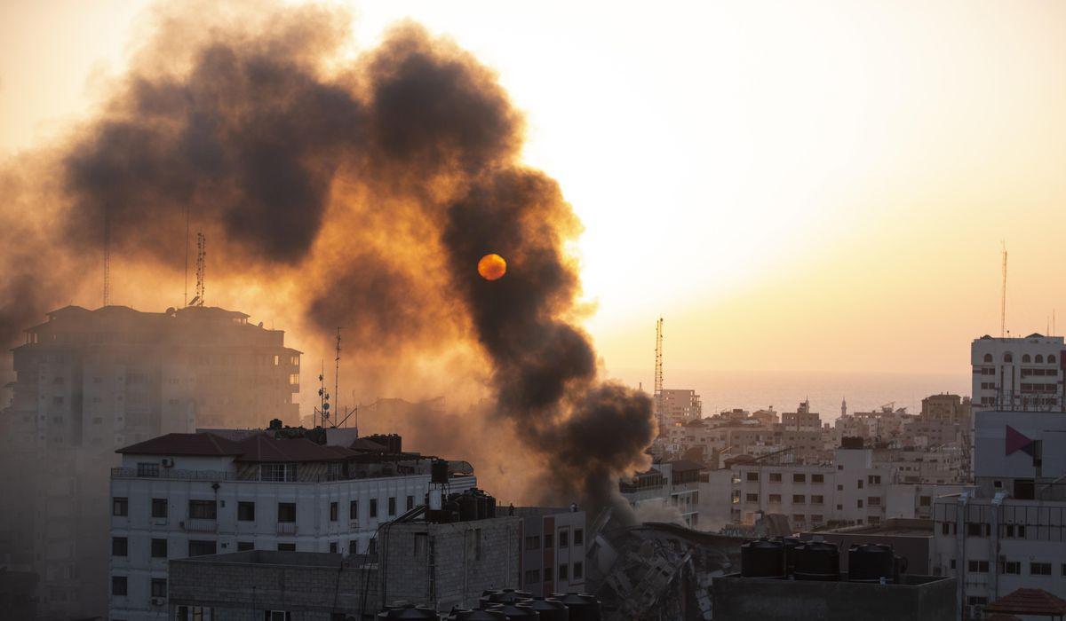 Weary Gaza marks Muslim feast as violence spreads in Israel