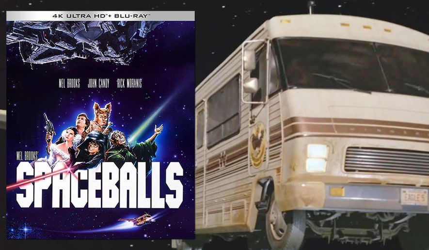 """Lone Star's Eagle 5 Winnebago in """"Spaceballs,"""" now available on 4K Ultra HD from Kino Lorber."""
