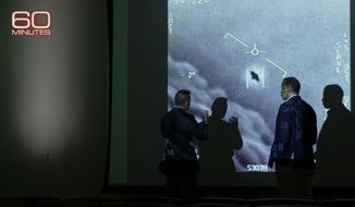 """Bill Whitaker of CBS News takes """"60 Minutes"""" on a deep dive into unidentified aerial phenomena, May 16, 2021. (Image: YouTube, """"60 Minutes"""" video screenshot)"""