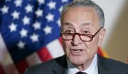 Senate Majority Leader Chuck Schumer of N.Y., speaks on Capitol Hill in Washington, Tuesday, May 18, 2021. (AP Photo/Susan Walsh)