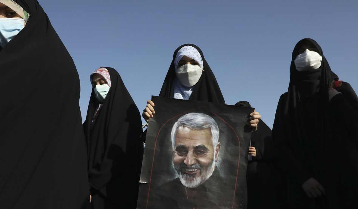 Recent Mideast clash highlights Iran backing of Palestinian militants