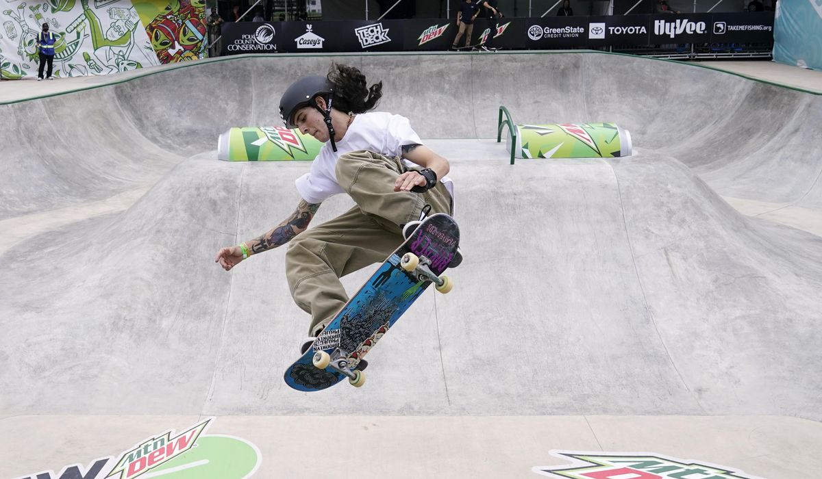 Olympics counting on skateboarders to bring youth, energy, edge to Tokyo