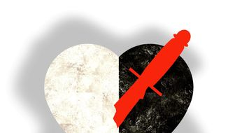 Marxists and Race in America illustration by The Washington Times
