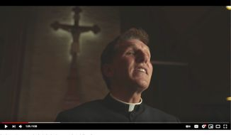 """Father James Altman, a Catholic priest who has rejected various lockdown measures since the COVID-19 pandemic exploded in 2020, has been asked to resign as pastor of St. James Catholic Church in La Crosse, Wisconsin. (Image: YouTube, Alph News, """"You cannot be Catholic & a Democrat. Period,"""" video screenshot)"""