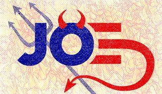 Devil Joe Illustration by Greg Groesch/The Washington Times