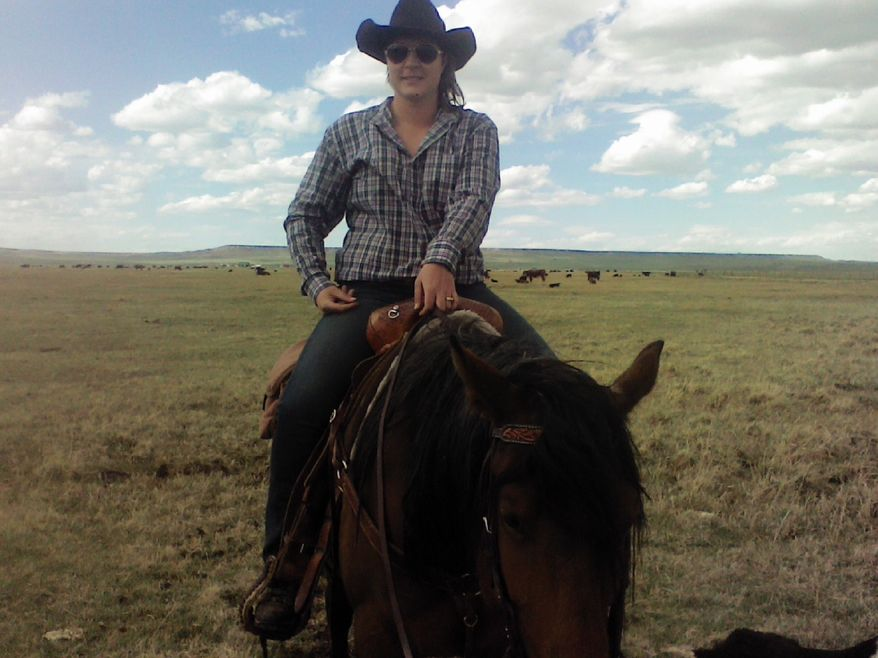 Sixth-generation Wyoming rancher Liesl Carpenter filed a lawsuit on May 24, 2021, against the Department of Agriculture for race discrimination over a loan-forgiveness program under the American Rescue Plan that excludes Whites. (Photo courtesy Mountain States Legal Foundation)