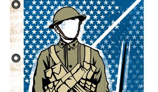 Memorial Day Soldiers: They Believed in Us Illustration by Linas Garsys/The Washington Times