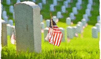 Memorial Day and The Ultimate Sacrifice Illustration by Greg Groesch/The Washington Times
