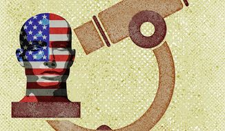 January 6 Commision Anger and Head Exam Illustration by Greg Groesch/The Washington Times