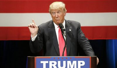 President Donald Trump (Associated Press photo)