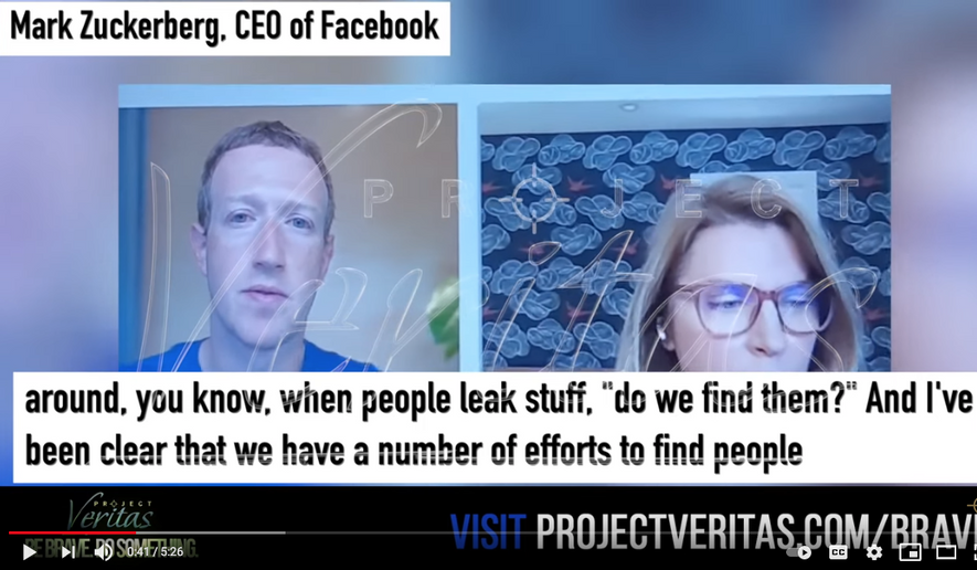 Screen capture from Project Veritas sting video. (YouTube) [https://www.youtube.com/watch?v=2S3246XJBOI&t=43s]