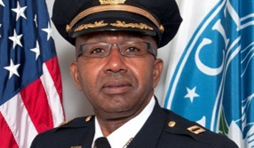 Alexandria (Va.) Police Assistant Chief Don Hayes is shown in this photo from the city website. On June 11, 2021 he was named interim police chief. (www.alexandriava.gov)
