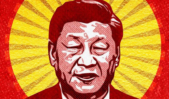 Jesus or Xi Jinping Illustration by Greg Groesch/The Washington Times