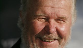 """Actor Ned Beatty arrives at the premiere of the movie """"Shooter,"""" Thursday, March 8, 2007, in Los Angeles. (AP Photo/Gus Ruelas)"""