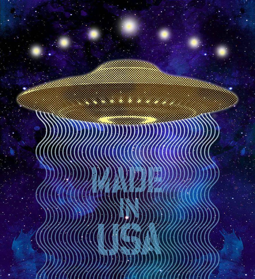 USA UFOs Illustration by Greg Groesch/The Washington Times