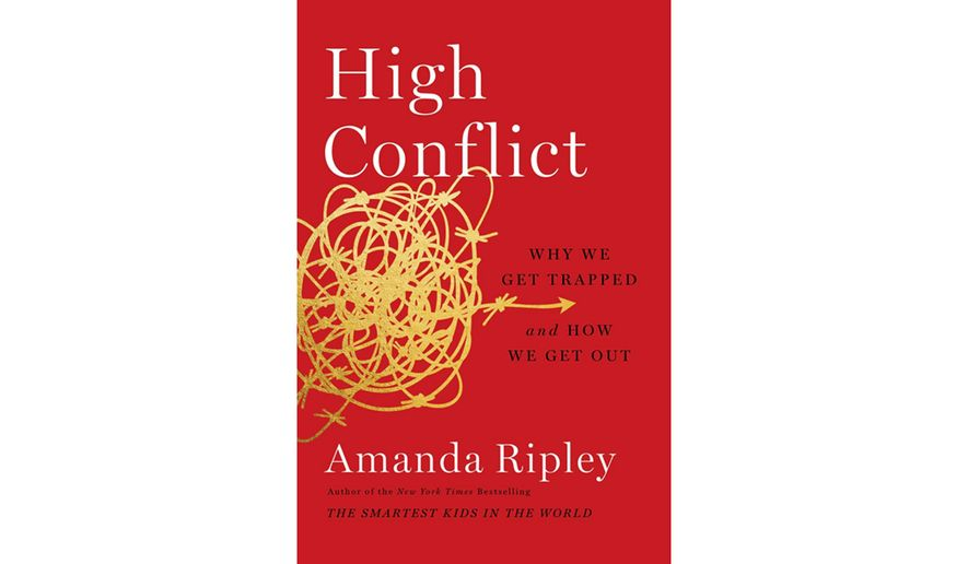 High Conflict by Amanda Ripley (book cover)